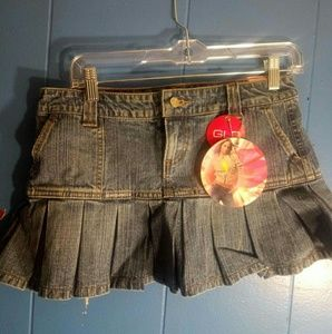 🆕NWT Glo Jean mini skirt